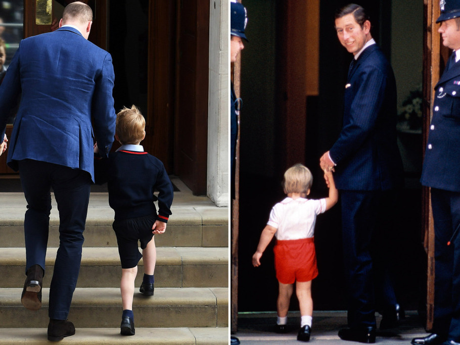 See William Visiting Baby Harry in the Hospital — and Then Taking His Kids to See the Royal Baby prince-william-32