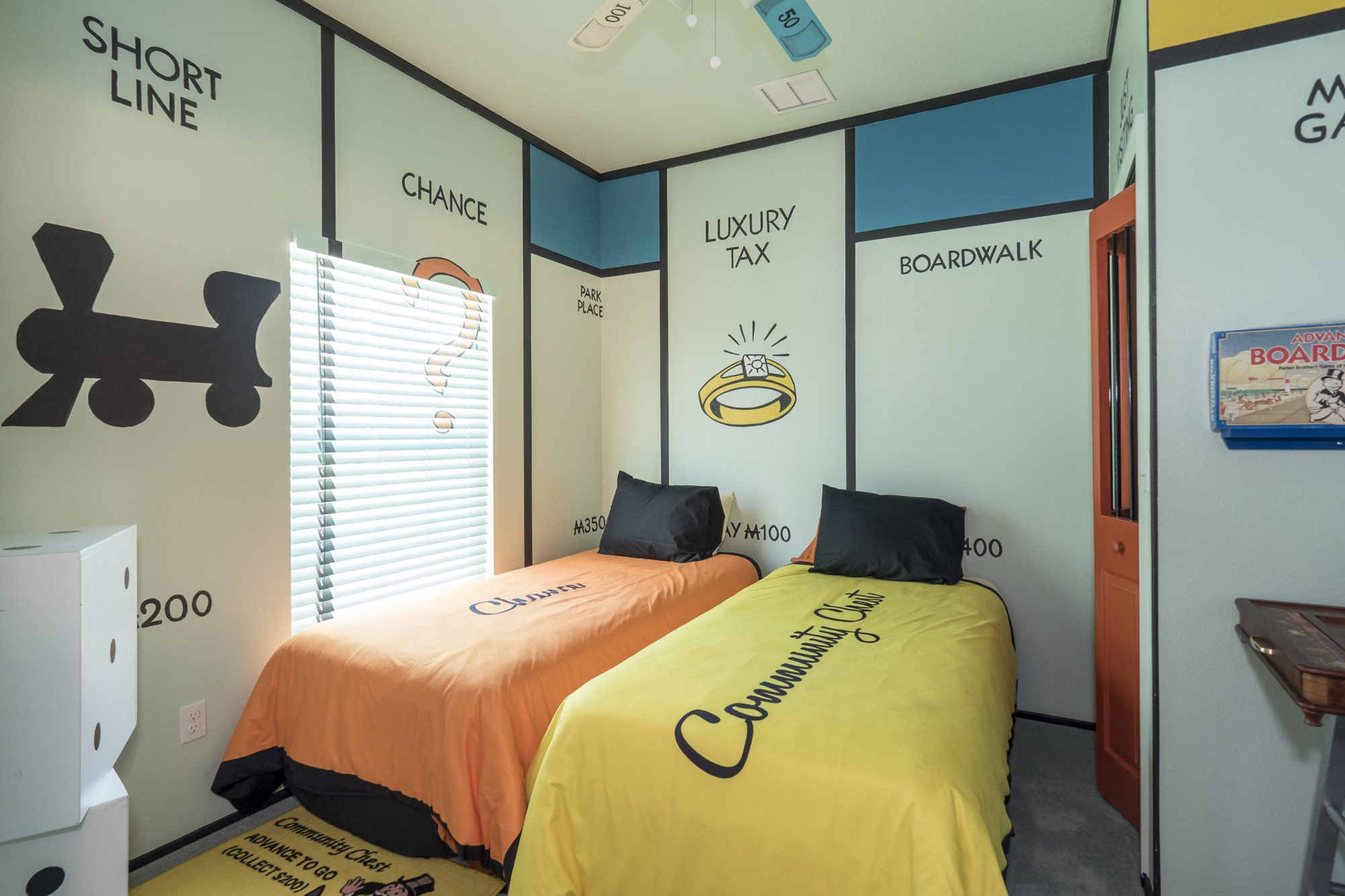 Southern Living Great Escape Lakeside Monopoly Bedroom