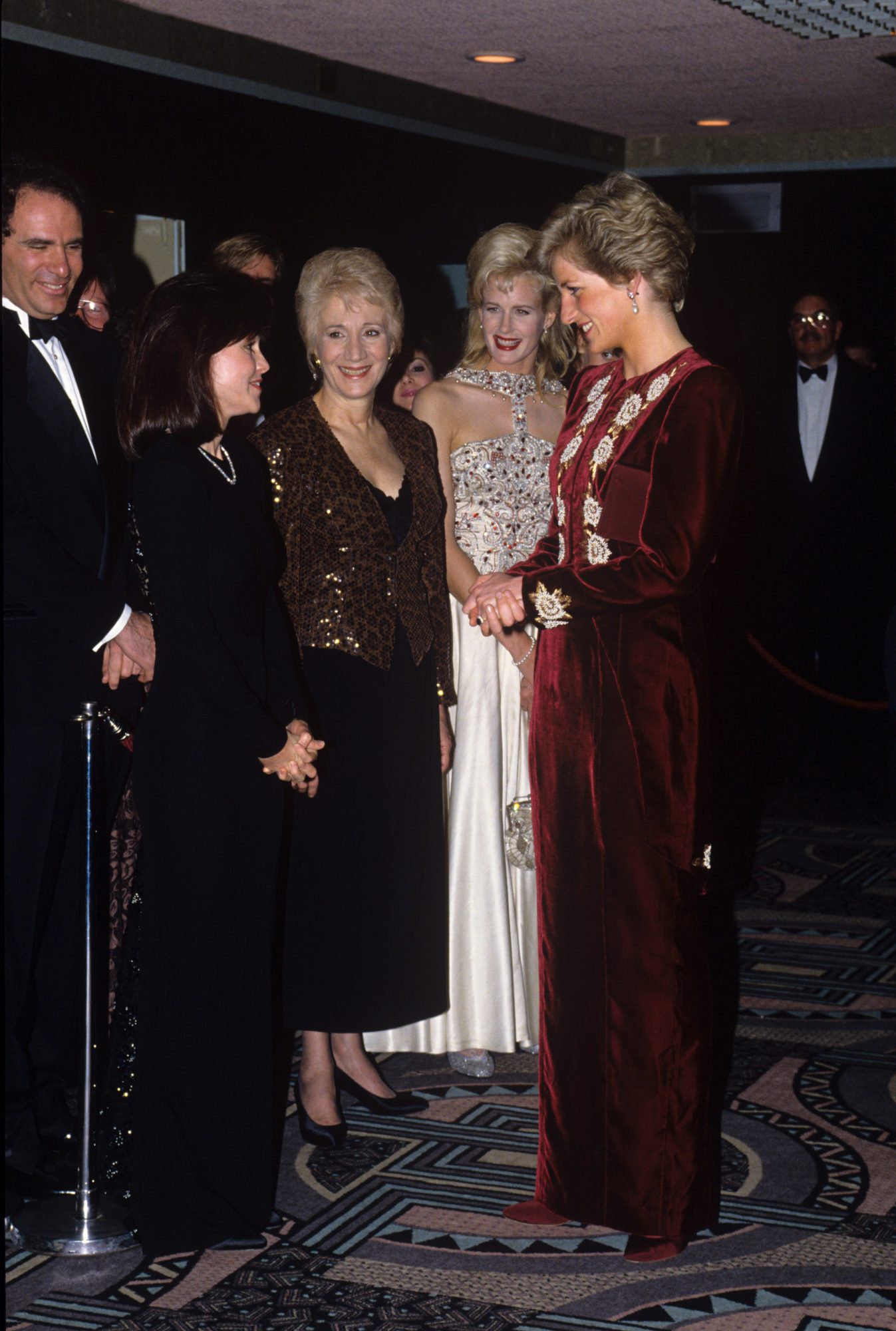 Southern Living Princess Diana Steel Magnolias Premiere Cast
