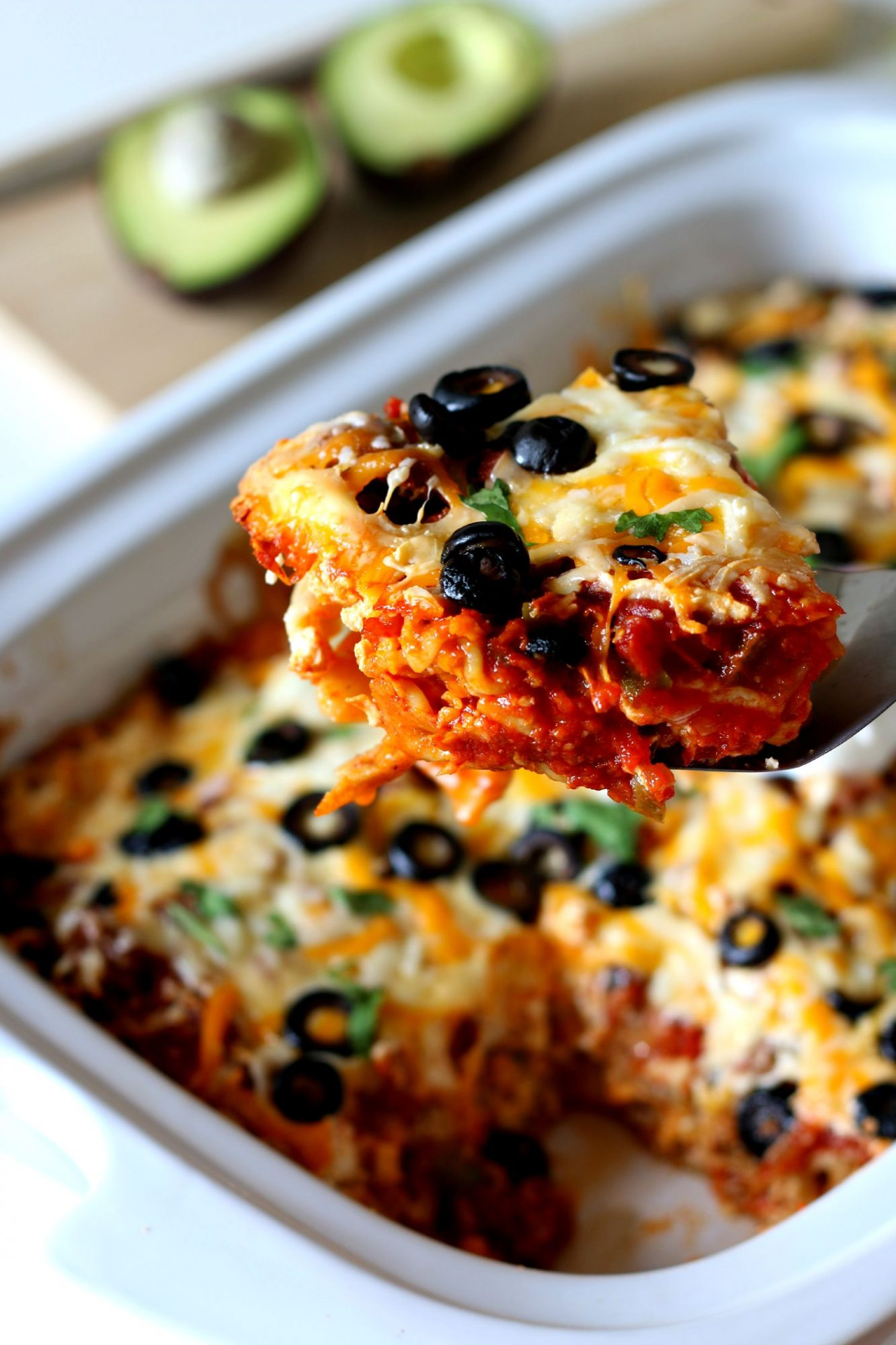 Slow Cooker 5-Cheese Taco Lasagna