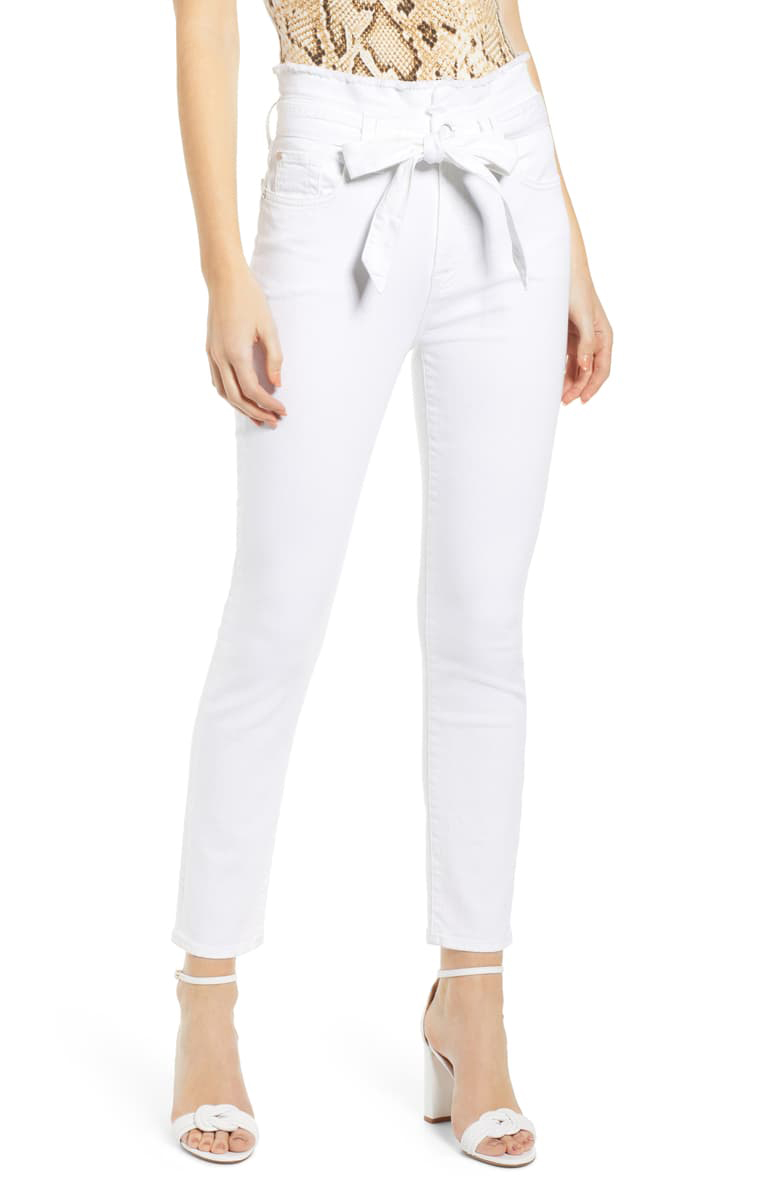 waist-best-white-jeans-for-body-type