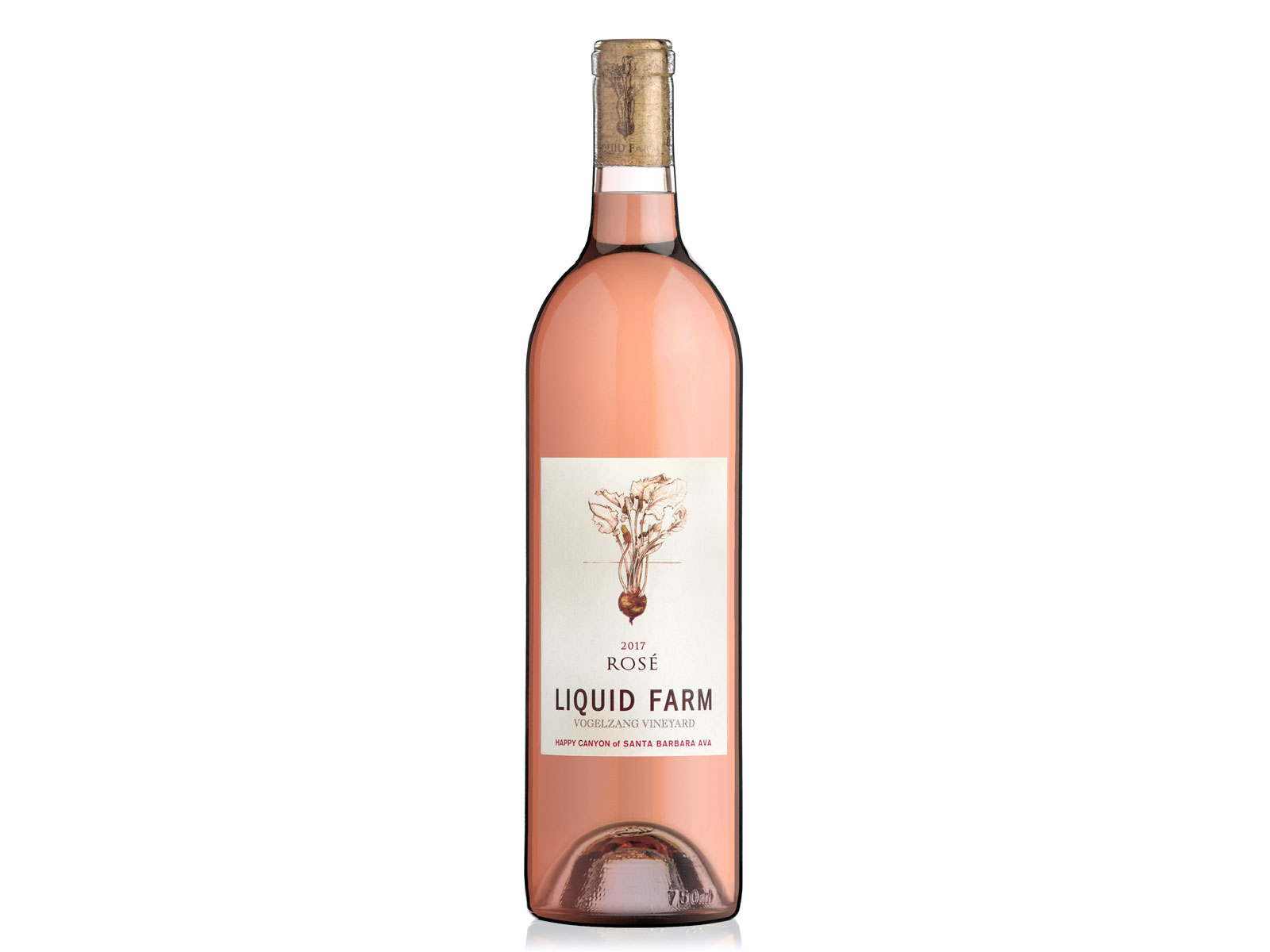 2017 Liquid Farm Rose of Mourvedre, Vogelzang Vineyard
