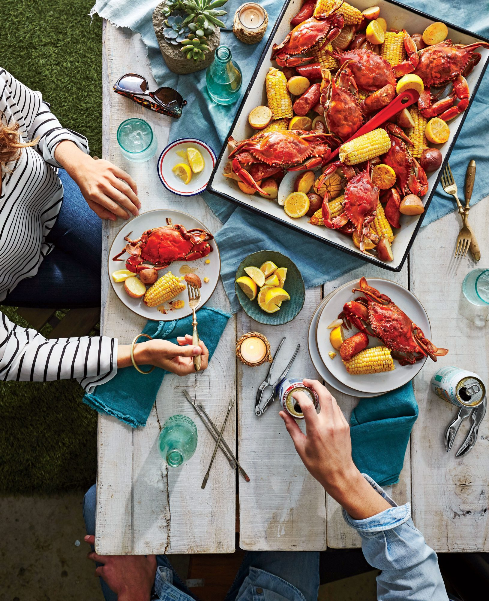 Crab Boil with Beer and Old Bay Recipe