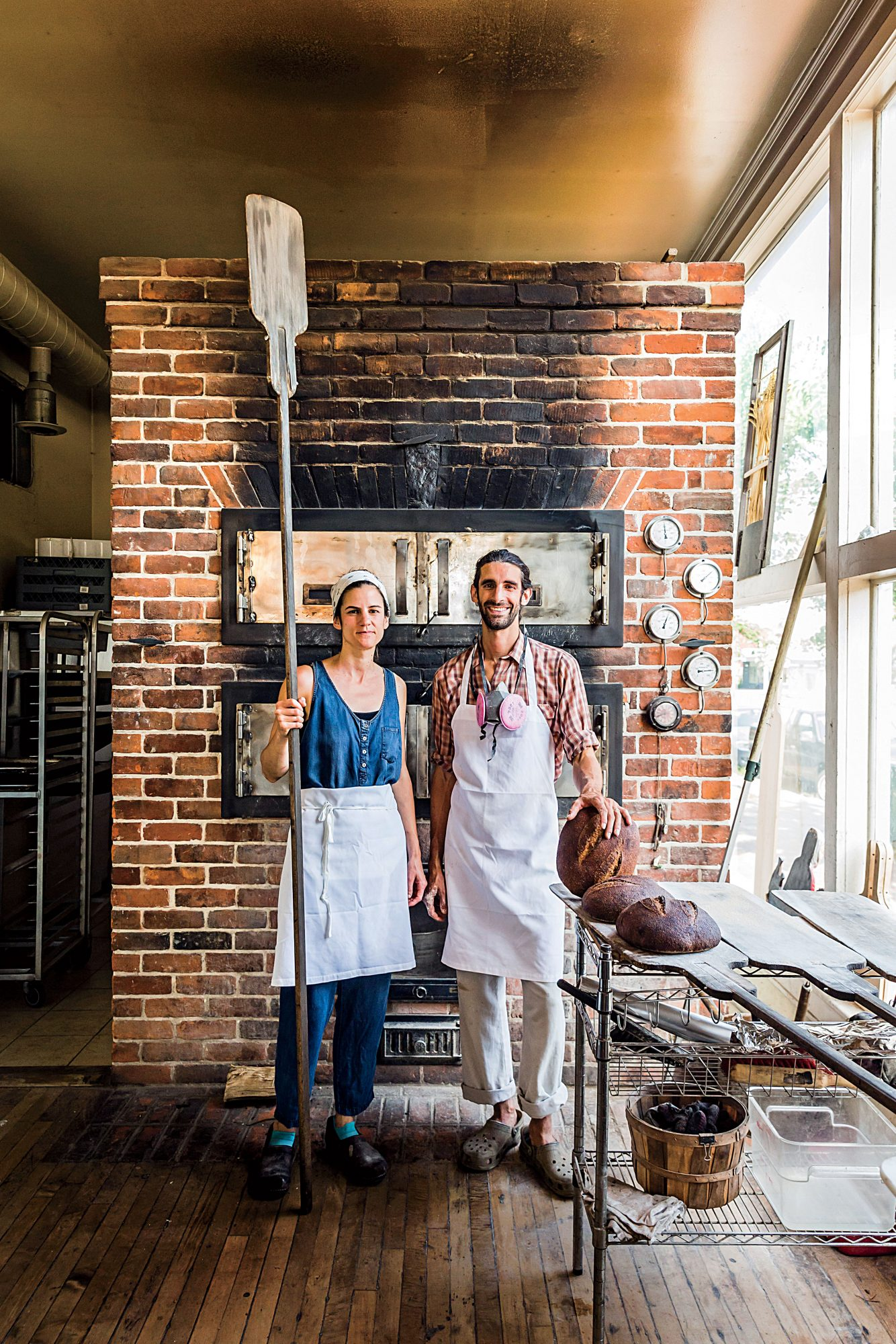Sub Rosa Bakery owners Evin and Evrim Dogu