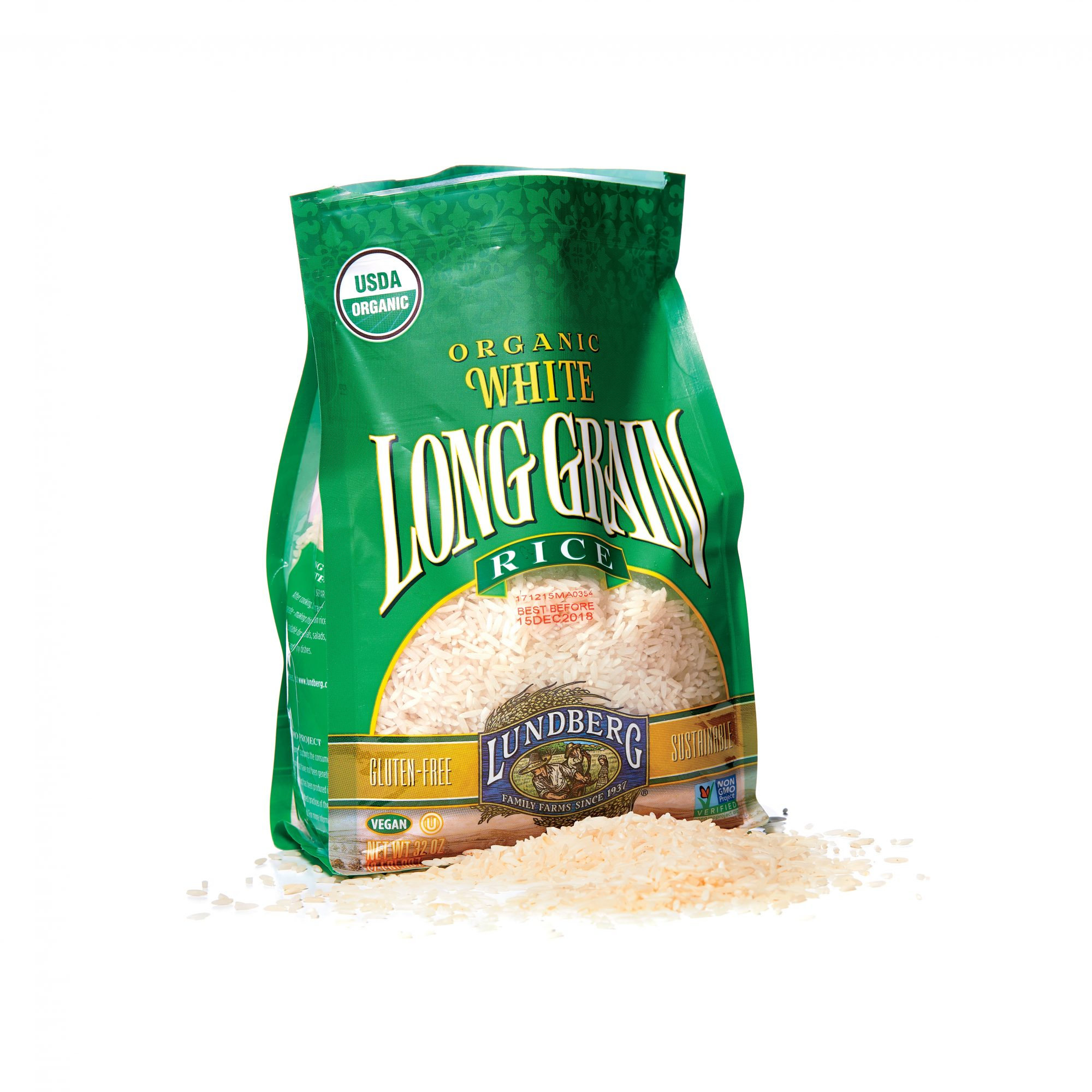 Lundberg Family Farms Organic White Long Grain Rice