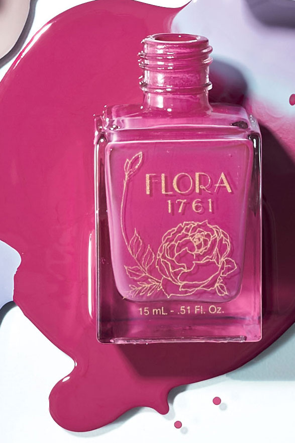 Flora 1761 Nail Lacquer in Laelia Orchid