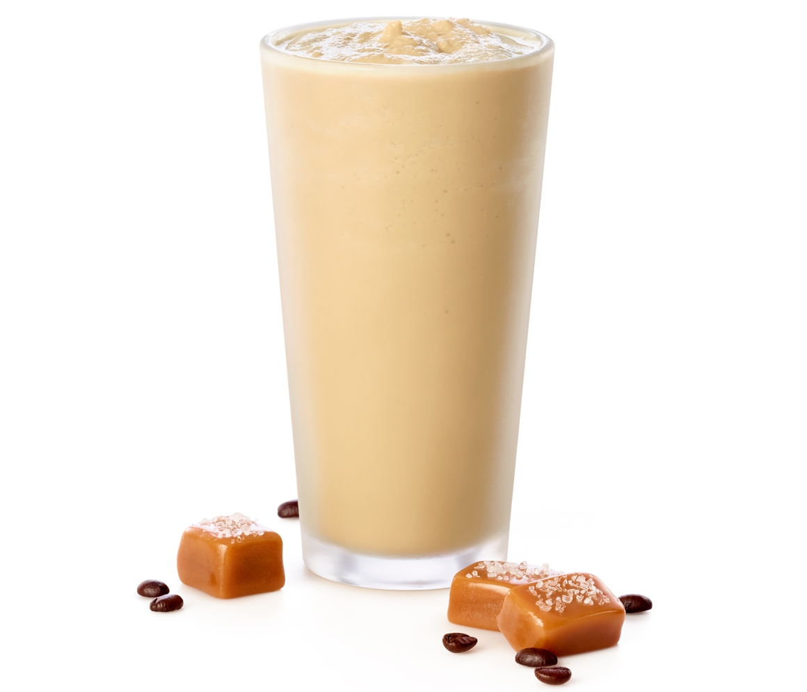 Chick-fil-A Frosted Salted Caramel Coffee