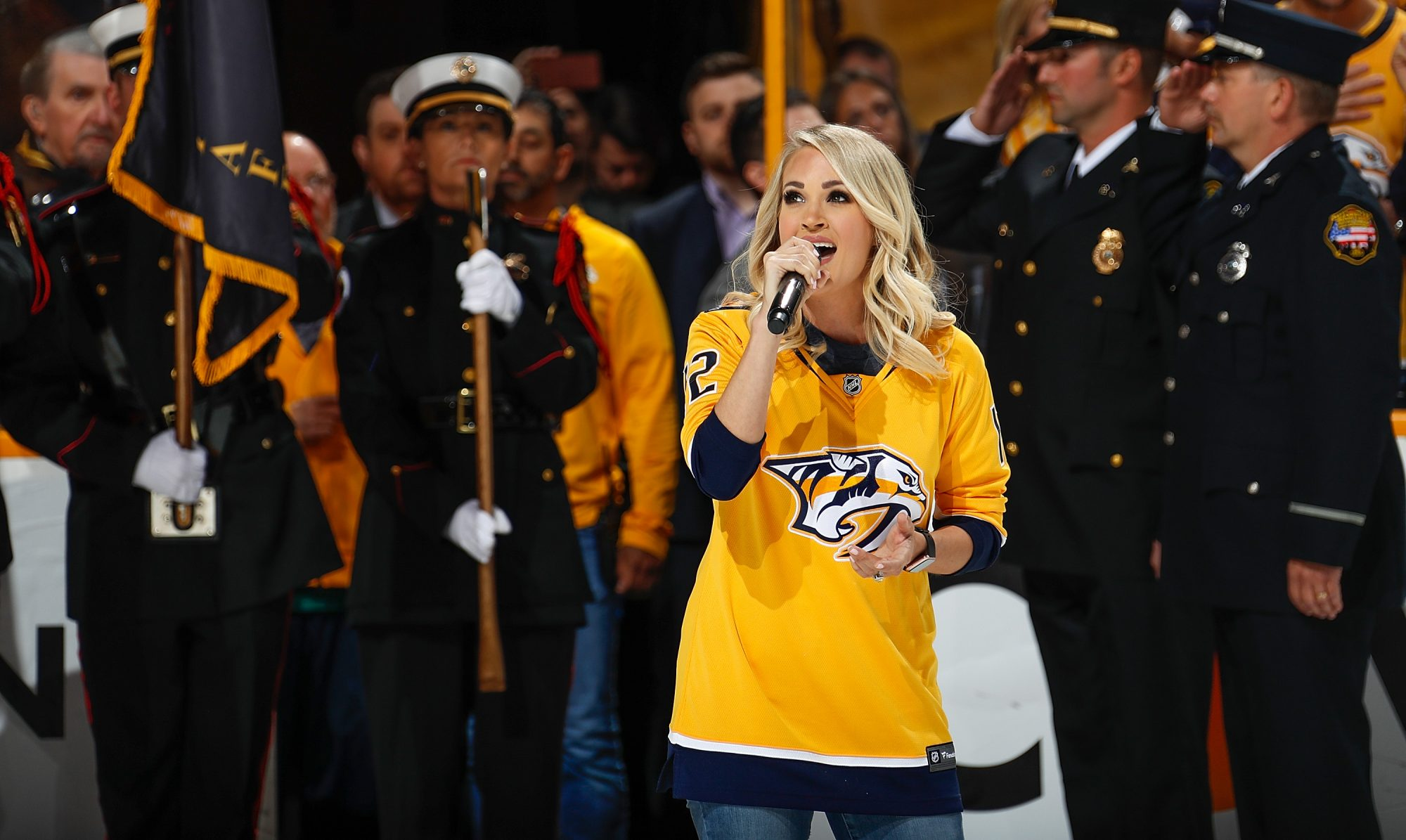 Carrie Underwood Star-Spangled Banner