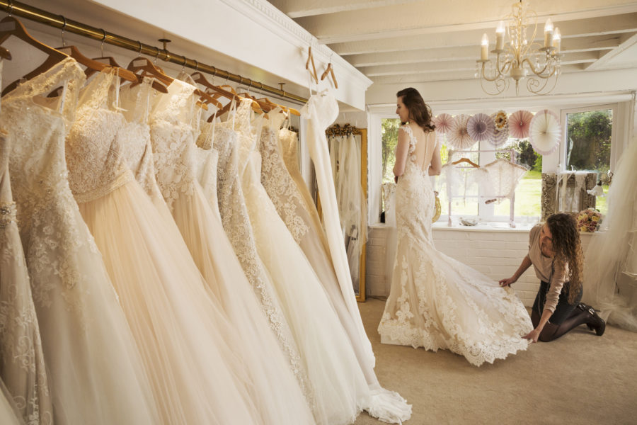 6 common wedding dress problems, solved bridal-shop-e1526330485479