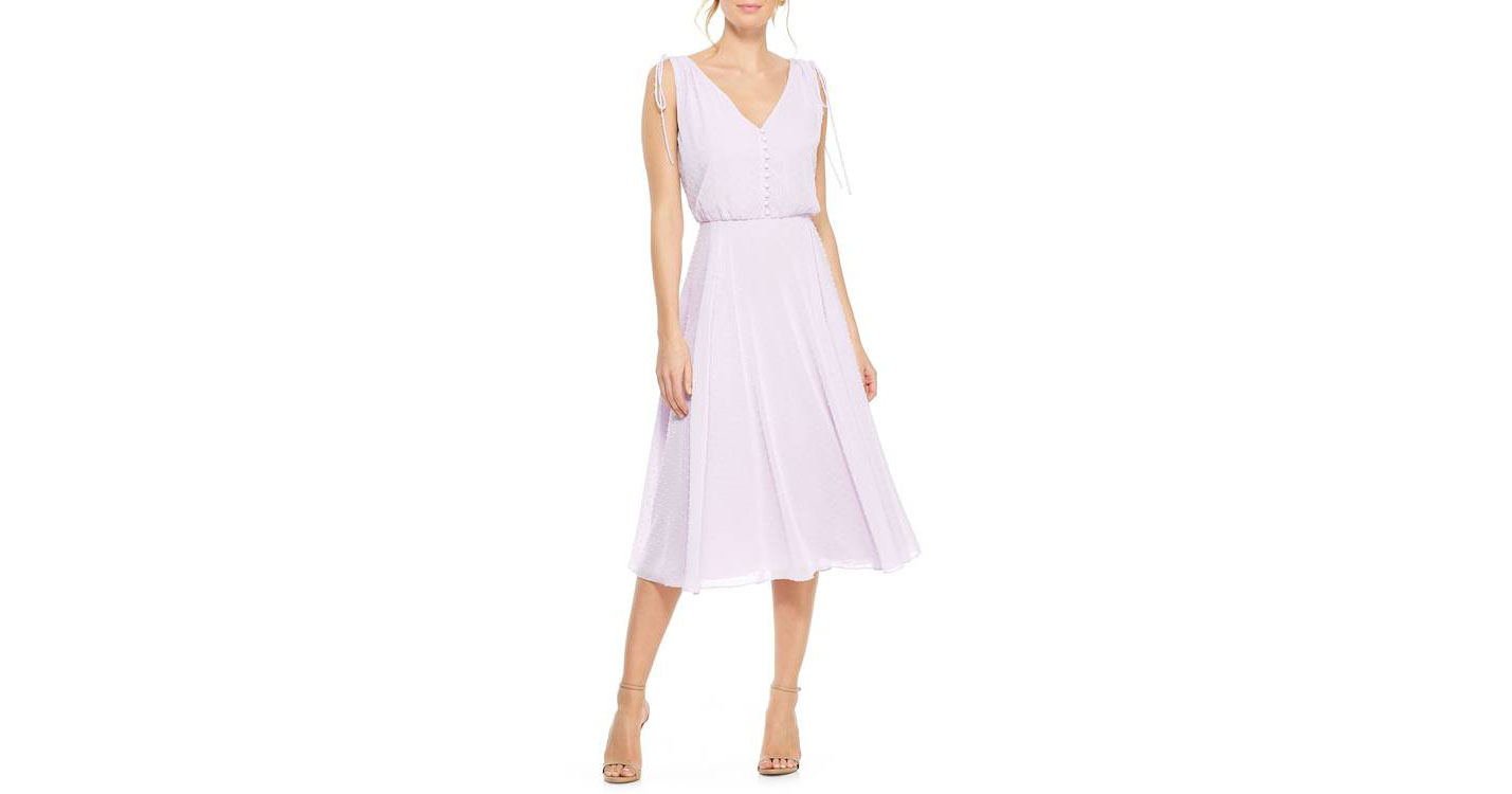 Brunch summer wedding guest dress