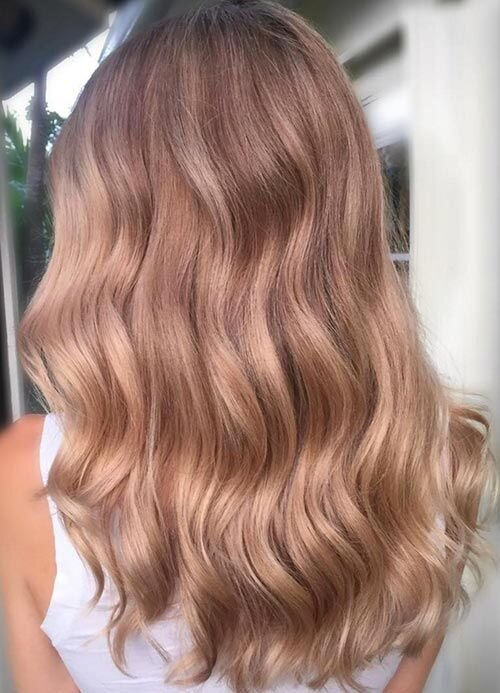 Rose Gold Hair Is As Dreamy It