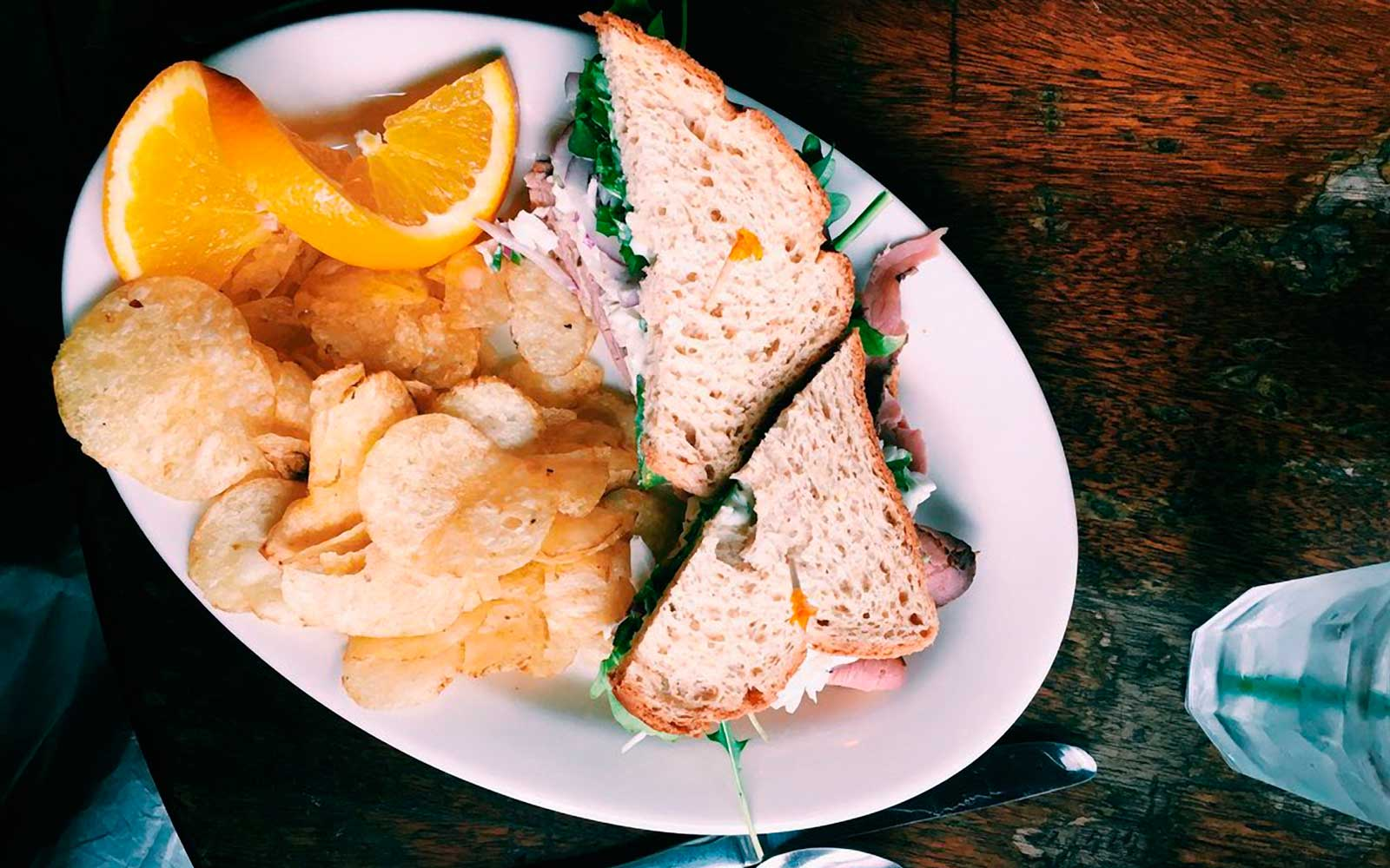 Sandwich at Blunozer Cade in Denver Colorado