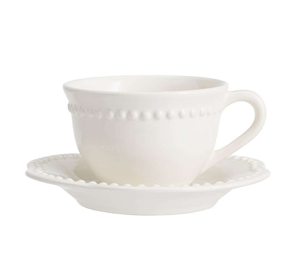 Pottery Barn Emma Cup and Saucer
