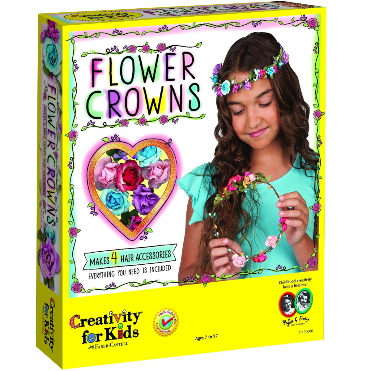 Faber-Castell Creativity for Kids Flower Crowns