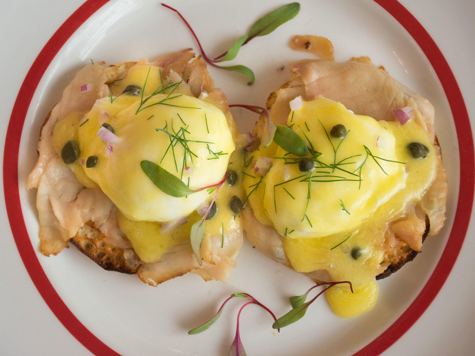 New Orleans Is the Eggs Benedict Capital of the World fateaux-overhead