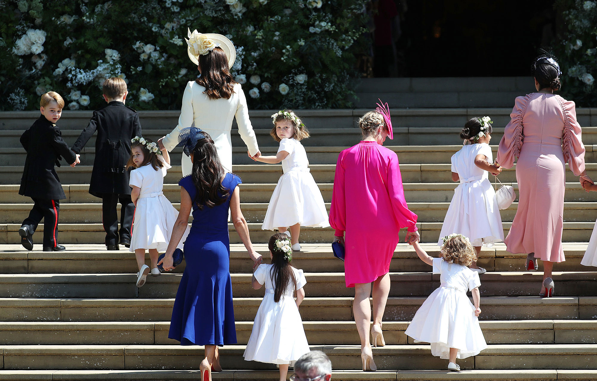 How the Royals Teach Their Children to Behave So Well in Church (It's All About Rehearsal!) george-2