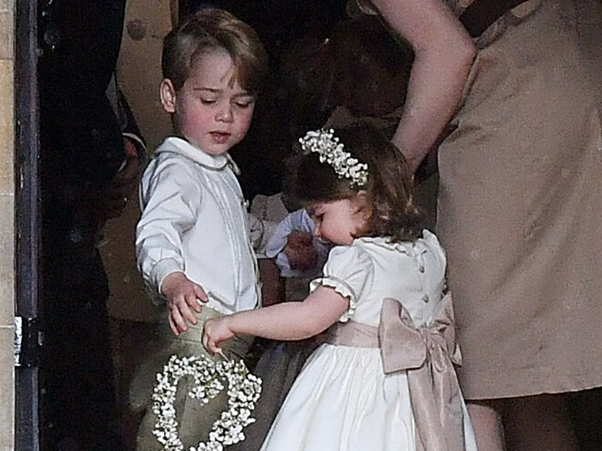Who Will Be Prince Harry and Meghan Markle's (Adorable!) Page Boys and Bridesmaids? george-charlotte