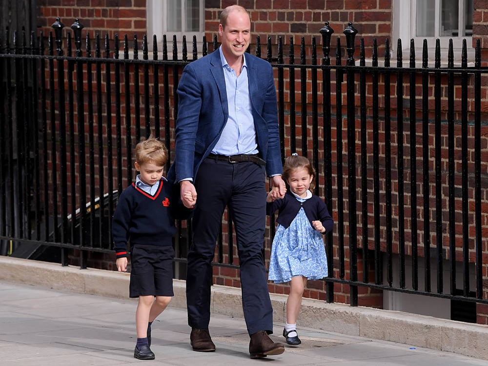 It Sounds Like Princess Charlotte Is The Perfect Big Sister To Prince Louis george-charlotte
