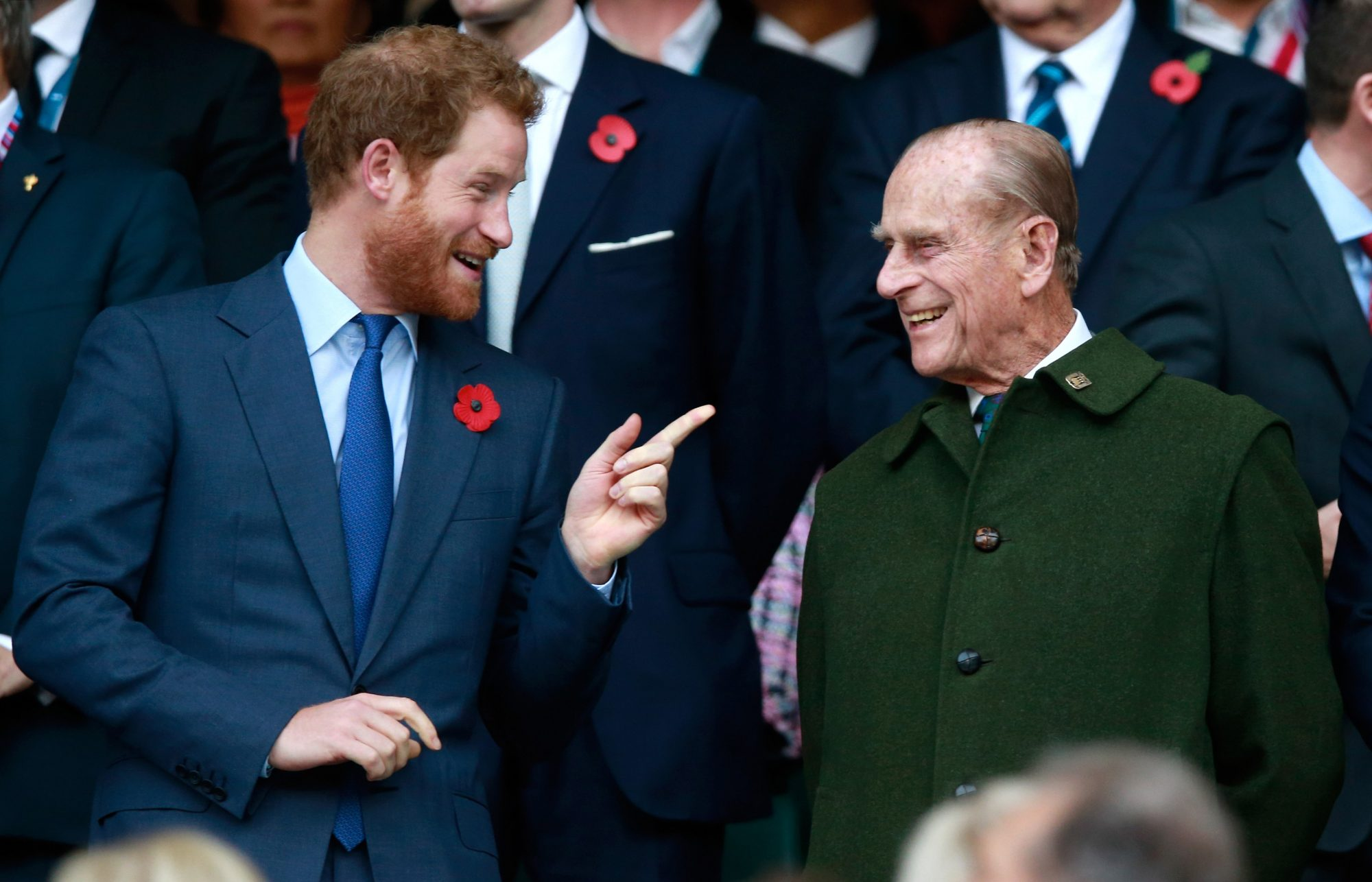 Southern Living Prince Philip and Prince Harry