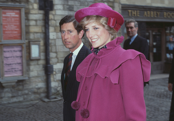 Royal Couple At Westminster Abbey