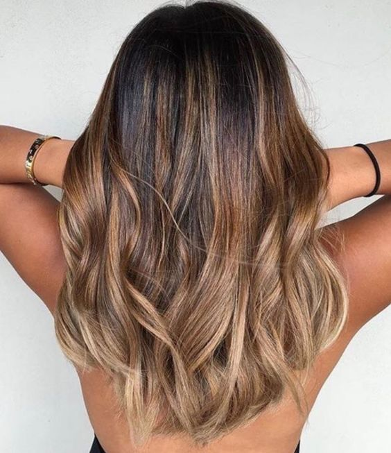 Golden Ombre Brunette