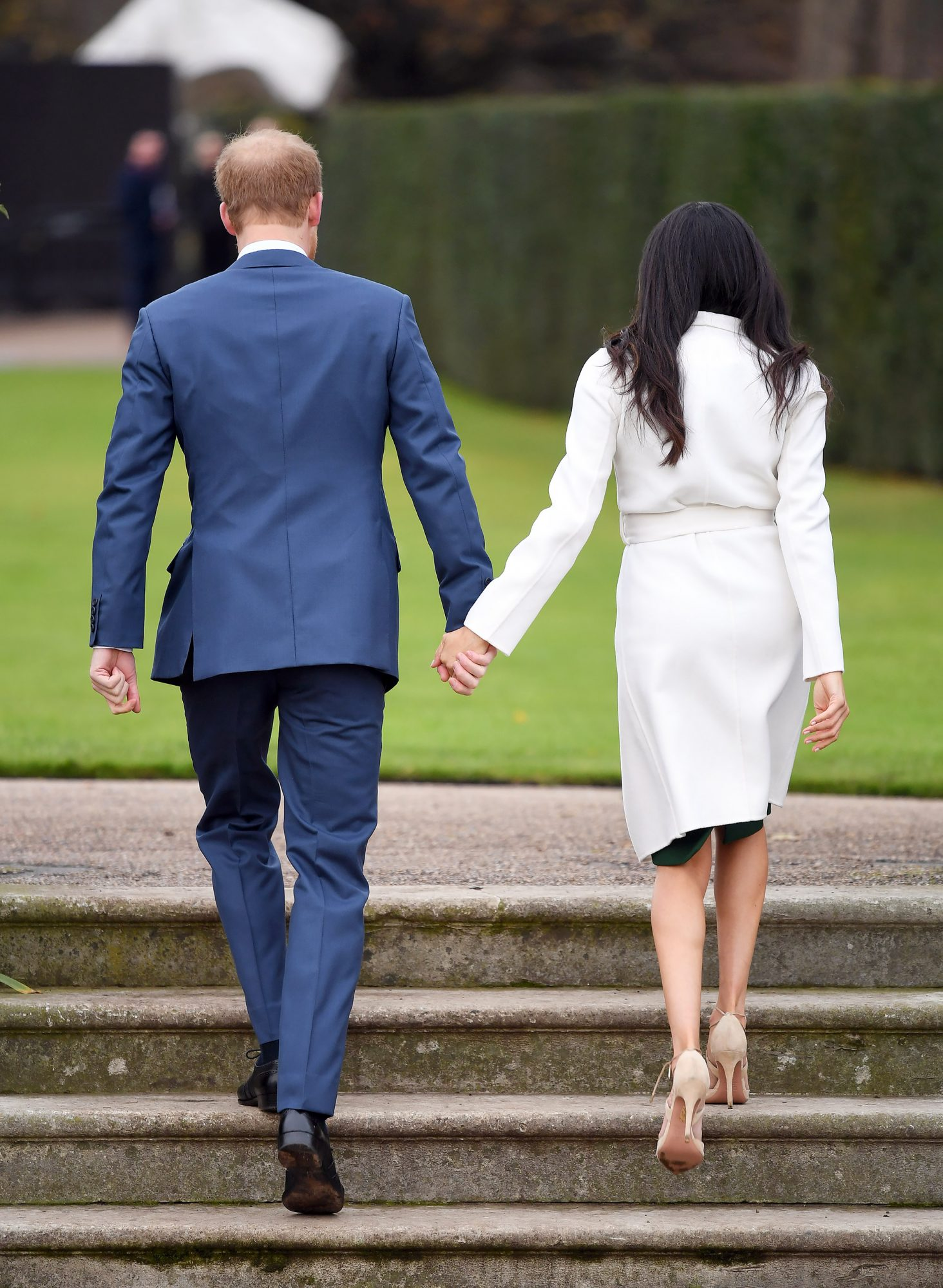 Meghan Markle Is Following the Royal Pantyhose Protocol for the First Time! harry-meghan-16