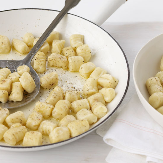 Potato Gnocchi with Butter and Cheese