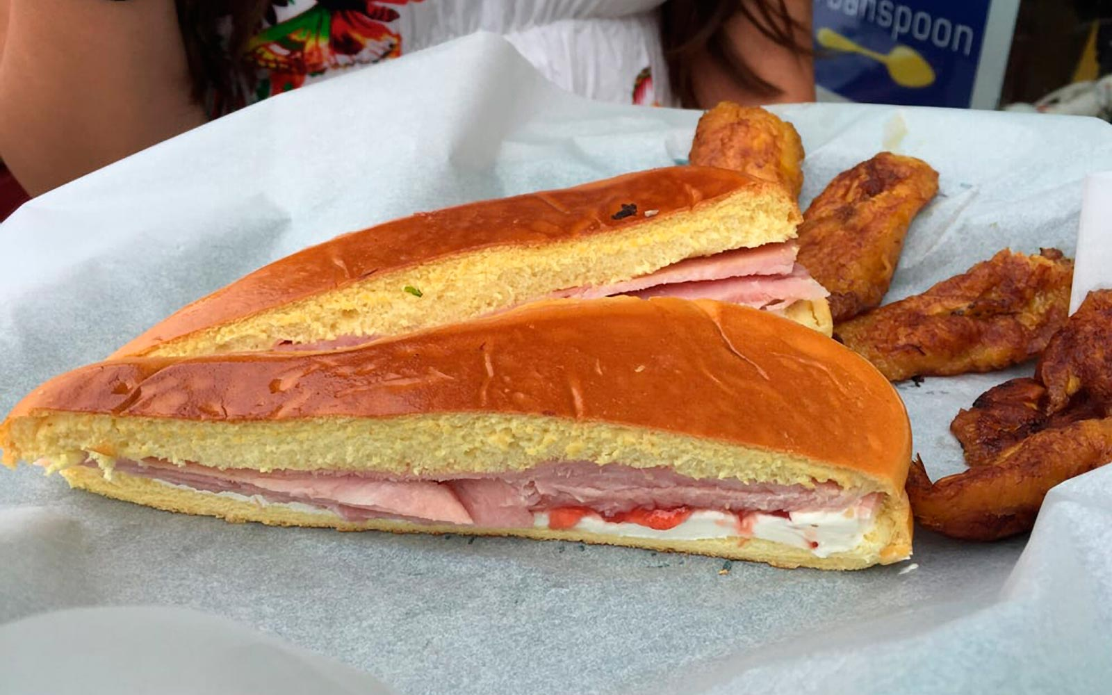 Cuban Sandwich at Taste of Havana in Indianapolis Indiana