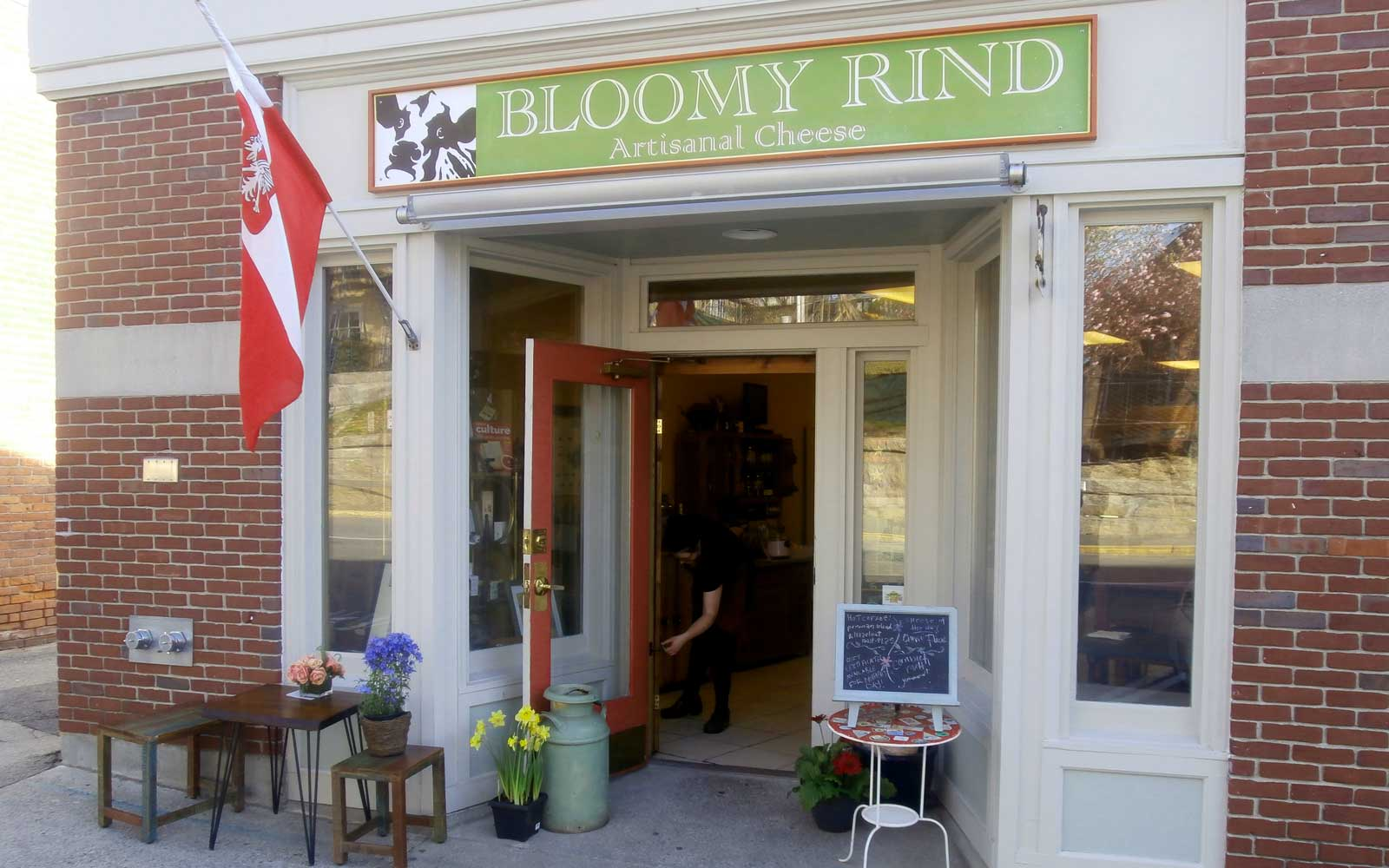 Bloomy Rind Cheese and Sandwich Shop, in Hingham Massachusetts