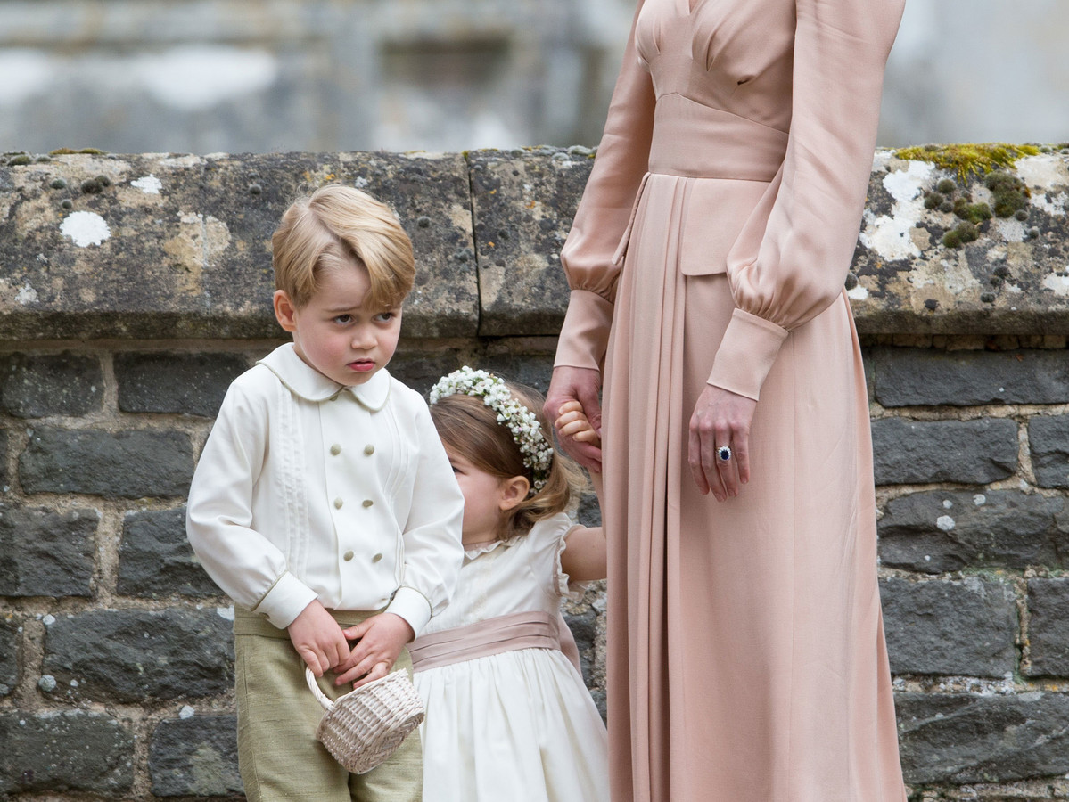 Who Will Be Prince Harry and Meghan Markle's (Adorable!) Page Boys and Bridesmaids? prince-george-b