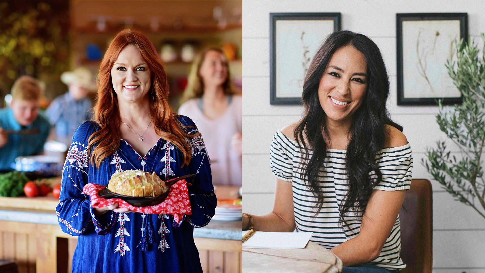 Southern Living Joanna Gaines vs Ree Drummond