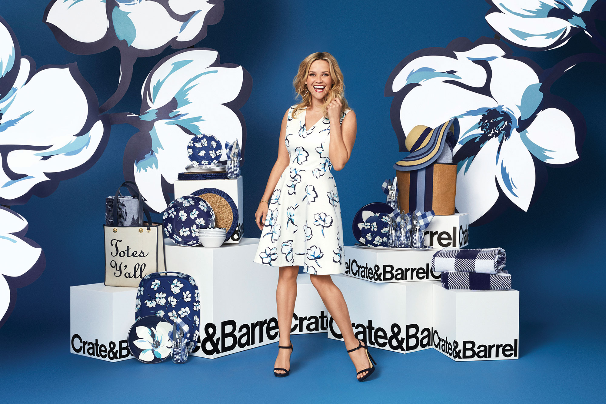 Reese Witherspoon's Draper James x Crate & Barrel Collab Will Give Your Home 'Southern Flair' reese-witherspoon-draper-james-crate-barrel