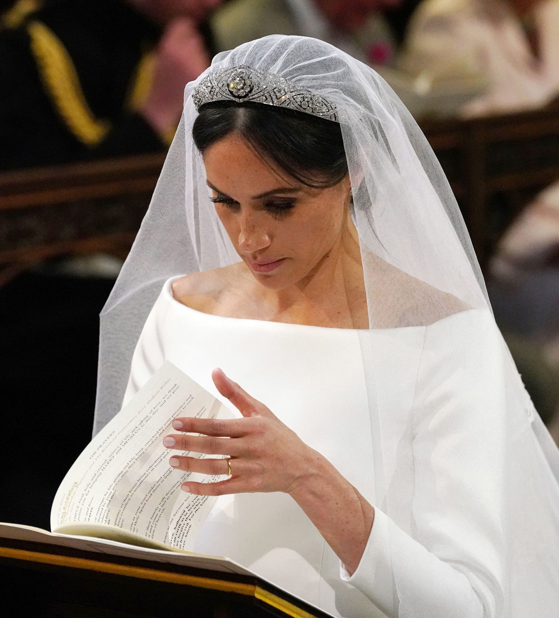 Yes, Meghan Markle's Bridal 'Messy Bun' Was Supposed to Come Loose, Says Her Hairdresser rexfeatures_9685436do