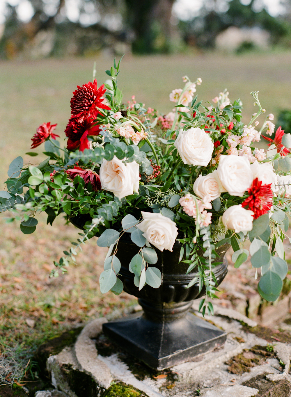 Romantic Wedding Flower Arrangements