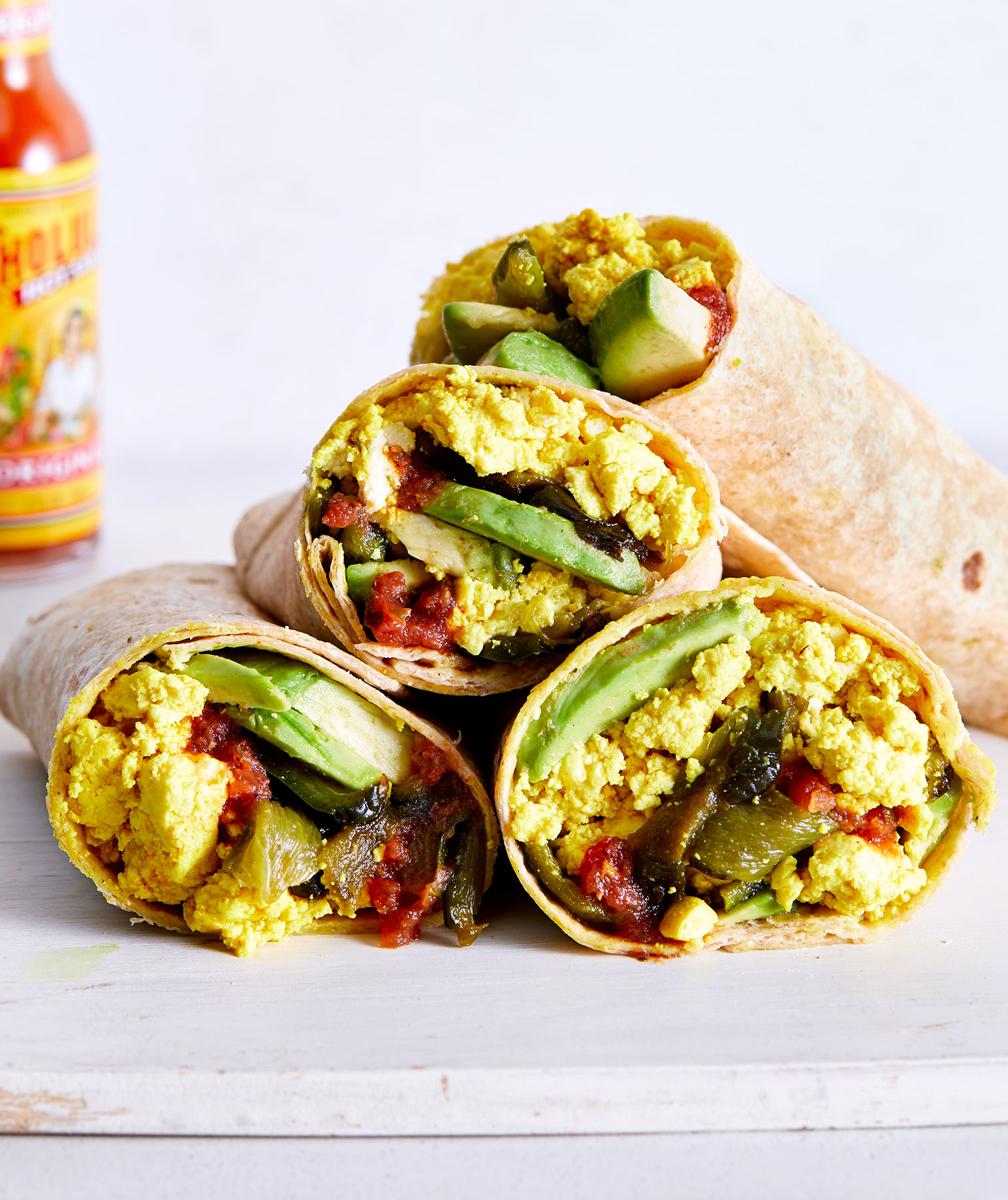 Vegan Breakfast Burrito With Tofu Scramble