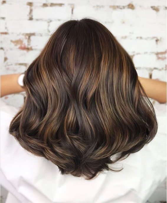 Brunette Hair Color Trends 2018