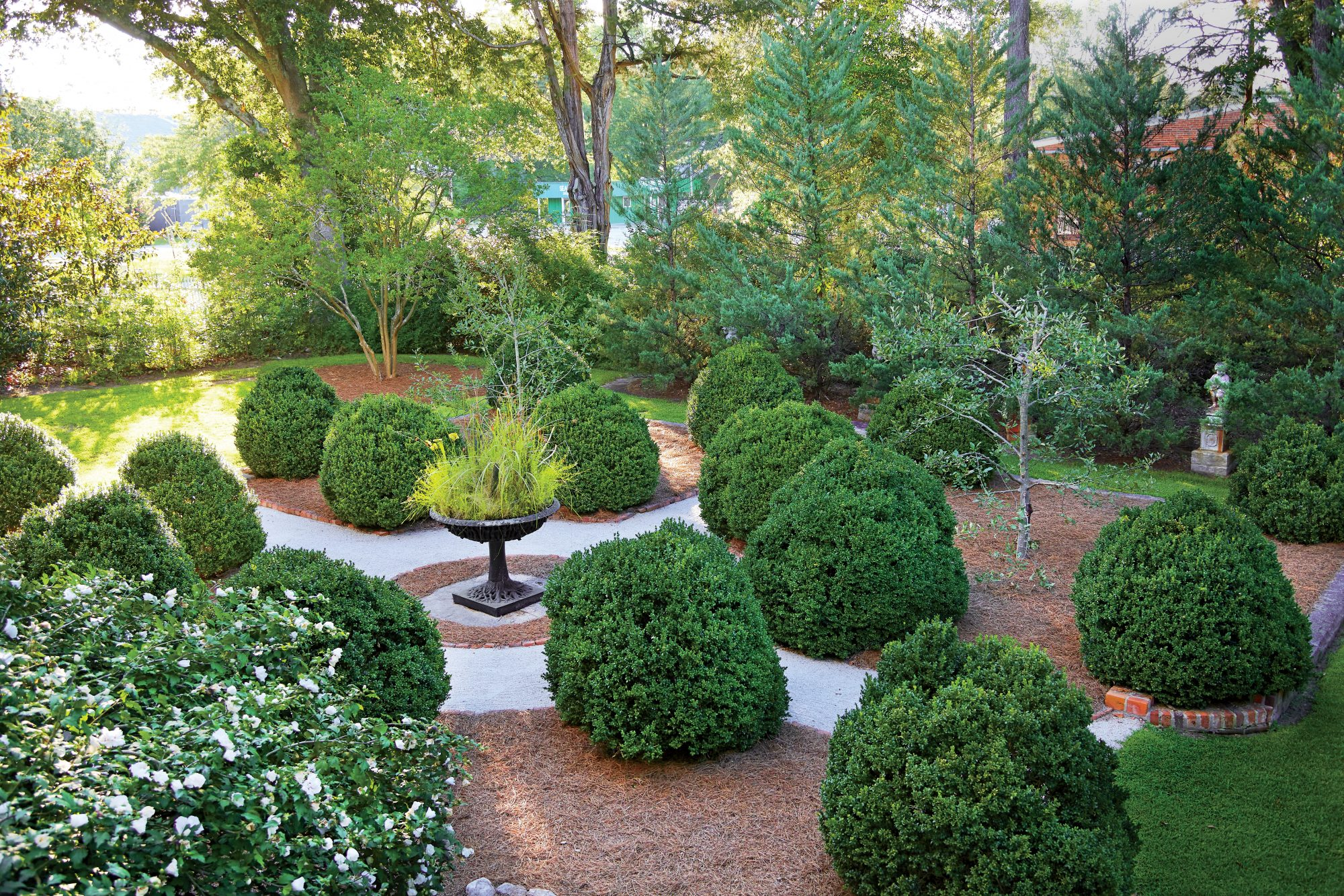 Sparta Formal Boxwood Garden