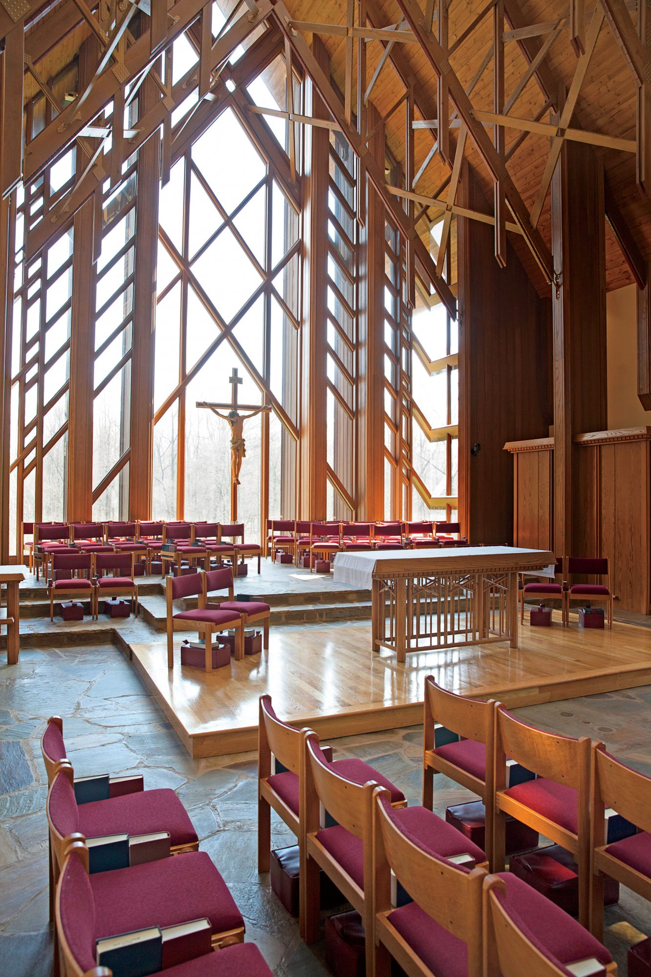 Chapel of the Apostles (Seminary Chapel) in Sewanee, Tennessee