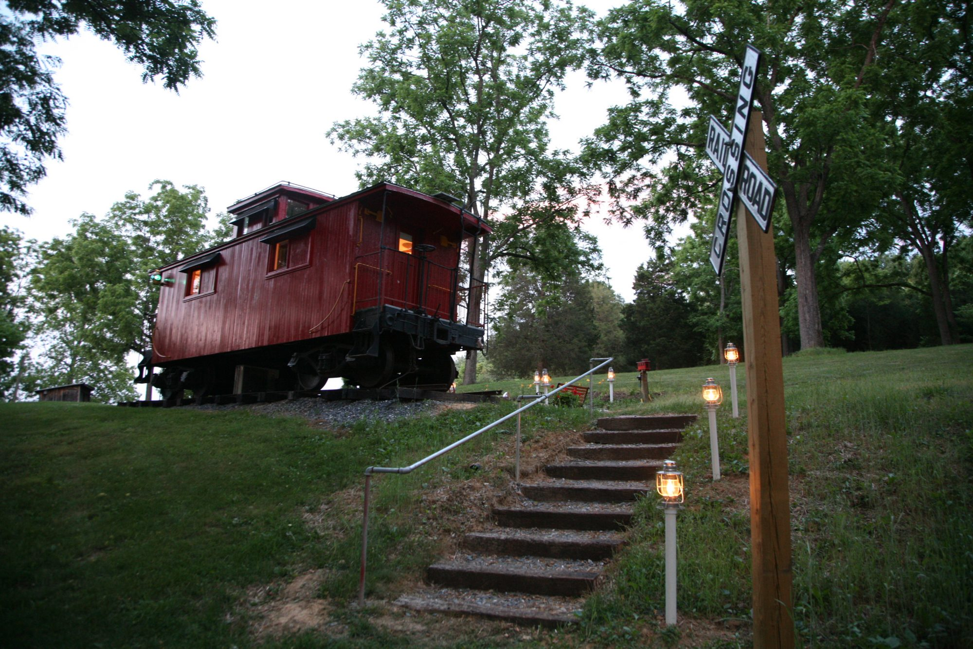 1926 C&O Caboose in Natural Bridge, Virginia
