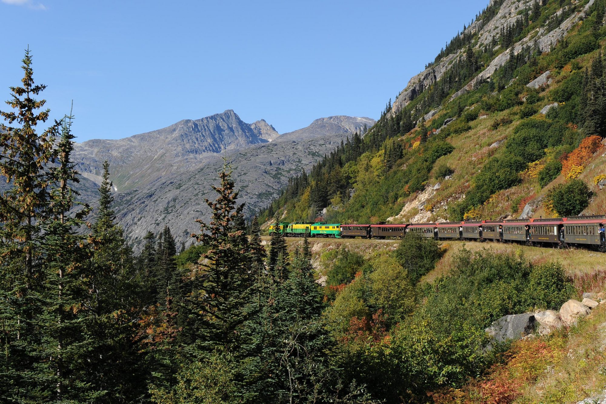 The Railroad Ride to White Pass Summit