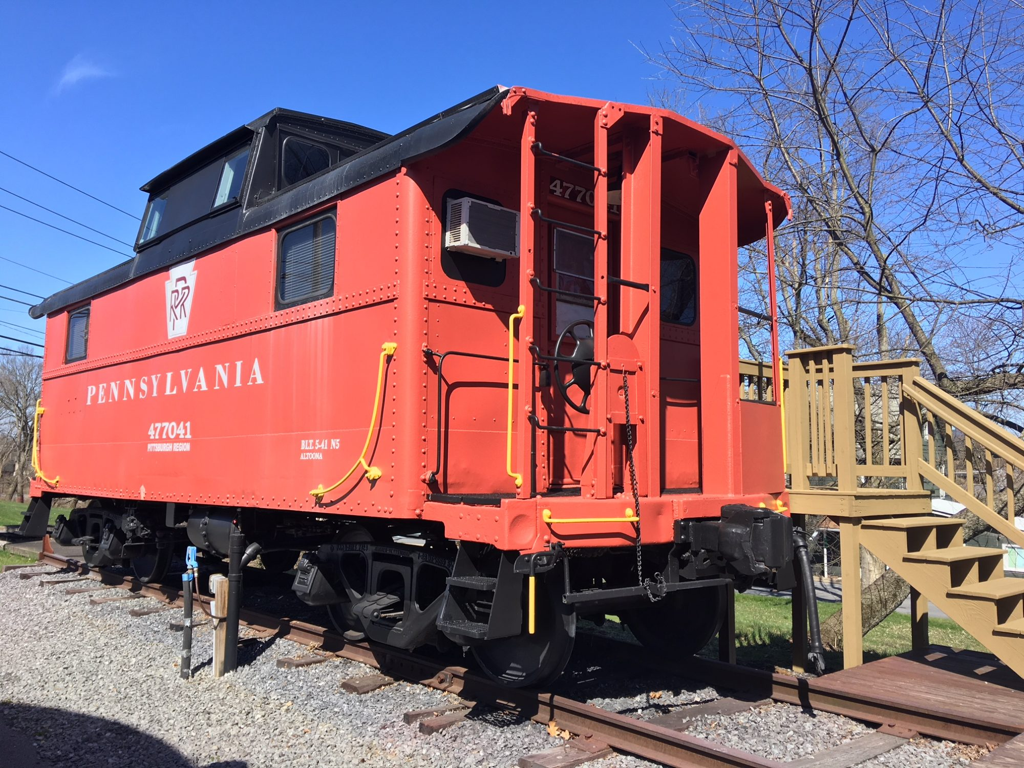 1941 Restored Vintage Caboose in Lock Haven, Pennsylvania