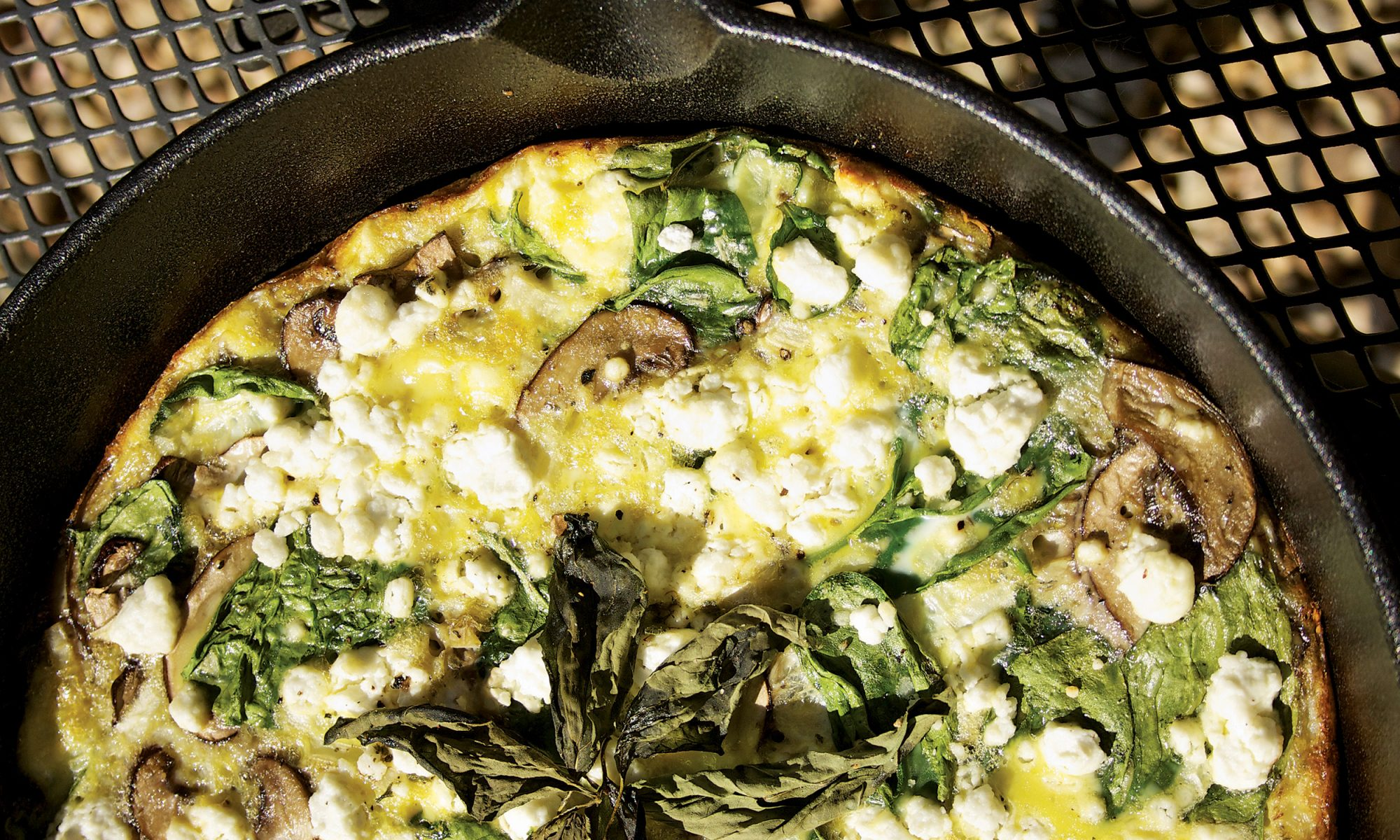 This Cheesy Cannabis Frittata Is Totally Dope