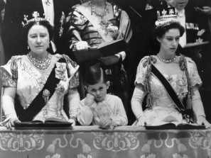 The Crown! The Crowd! Remembering Queen Elizabeth's Coronation 65 Years Ago gettyimages-2667907