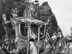 The Crown! The Crowd! Remembering Queen Elizabeth's Coronation 65 Years Ago gettyimages-3239672