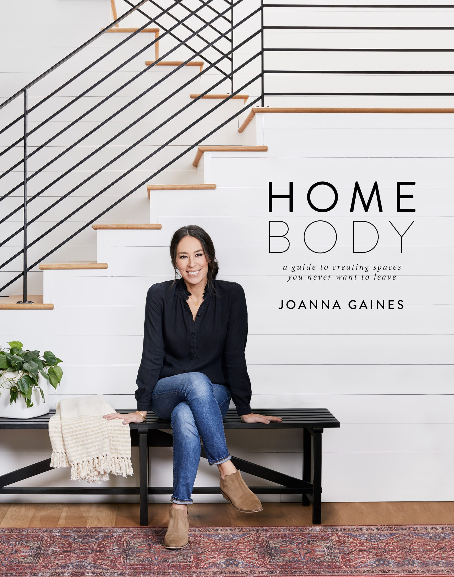 Joanna Gaines Reveals the Cover of Her Upcoming Design Book, Homebody hb_designbook_cover_6_5_18