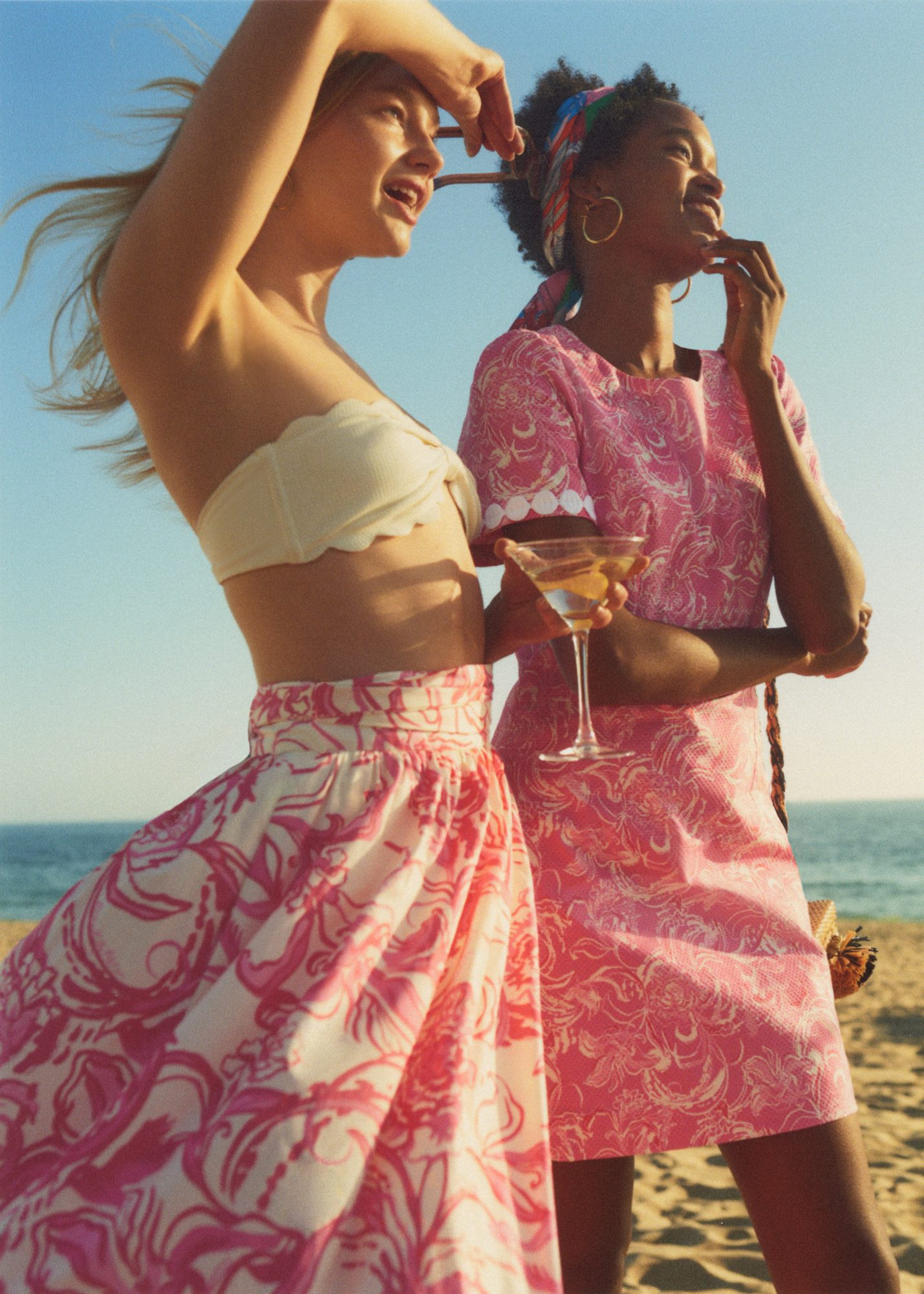 Goop x Lilly Pulitzer Maxi Skirt and Shift Dress