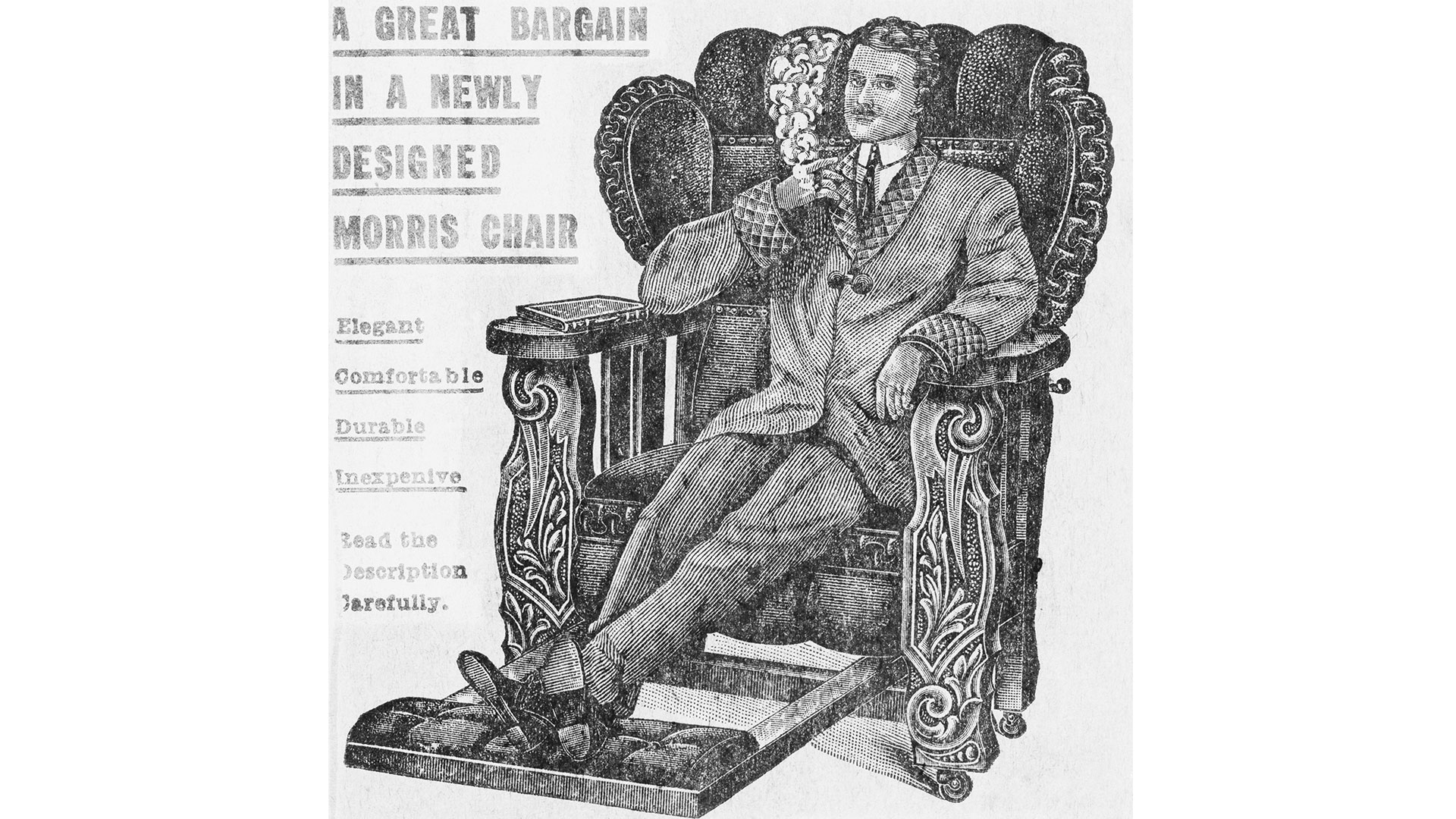 Morris Chair Ad