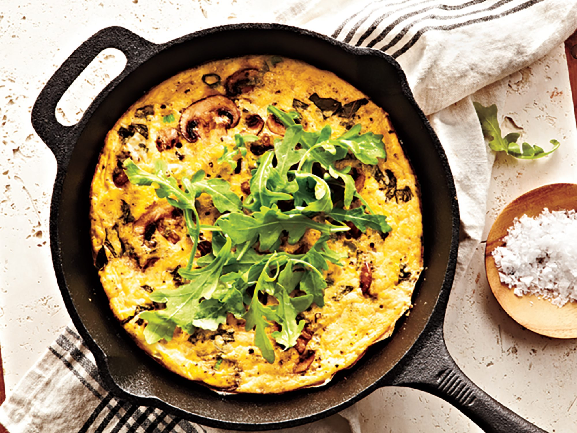 zoodle frittata video hero