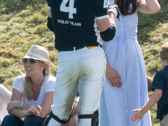 See Princess Charlotte and Prince George Adorably Cheer on Dad William at Polo! prince-william-33