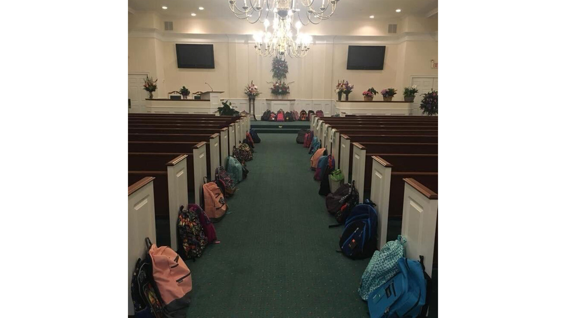 Tammy Waddell Funeral Backpacks
